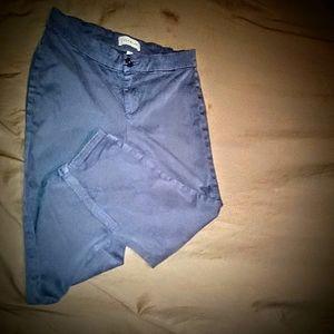 Lila Ryan Steel  Blue Capris!!!